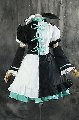 Hatsune Miku Kostüme (a-184-1 Vocaloid Miku Hatsune Kleid dress Cosplay Kostüm costume n. maß)