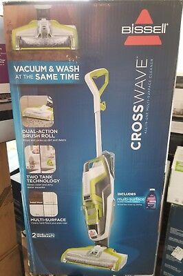 - BISSELL Crosswave Multi-Surface Cleaner Vacuum Carpet hard wood floor Free 8-oz
