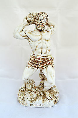 Cyclops Ancient Greek Mythology one eye Giant sculpture statue artifact