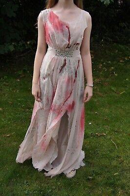 Halloween unique decorated vampire zombie prom bride costume dress size - 10 Unique Halloween Costumes