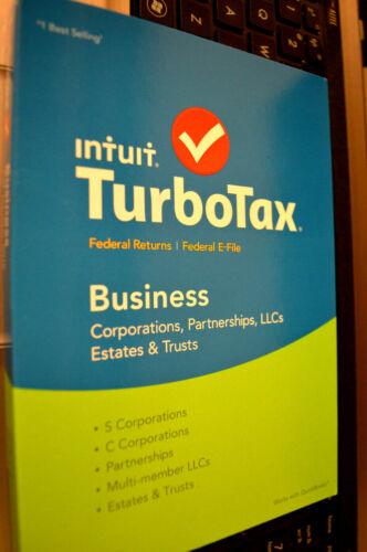 TurboTax Business for Tax Year 2017 Windows INT940800F062