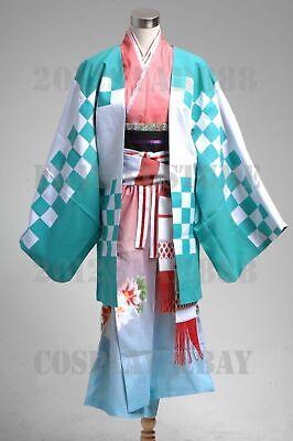 Ao no Blue Exorcist Shiemi Moriyama Kimono Outfit - Blues Halloween Kostüm