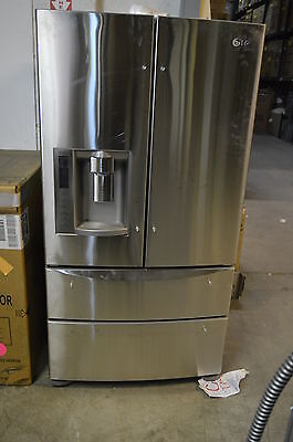 Lg Lmx28988st 36  Stainless Steel 4 Drawer French Door Refrigerator Nob  9171
