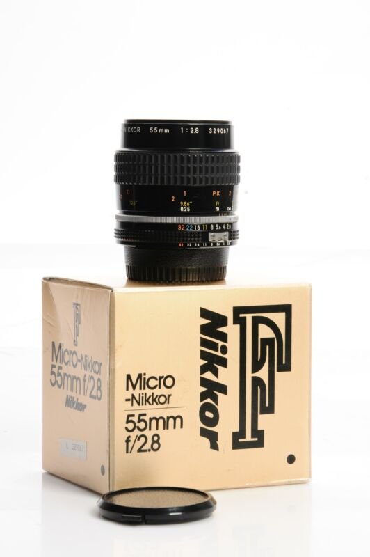 Nikon Nikkor AI-S 55mm f2.8 Micro Lens 55/2.8 AIS #067