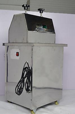 Electric Sugar Cane Press Juicer Sweet sorghum Stainless Steel Desktop 110V for sale  Rancho Cucamonga