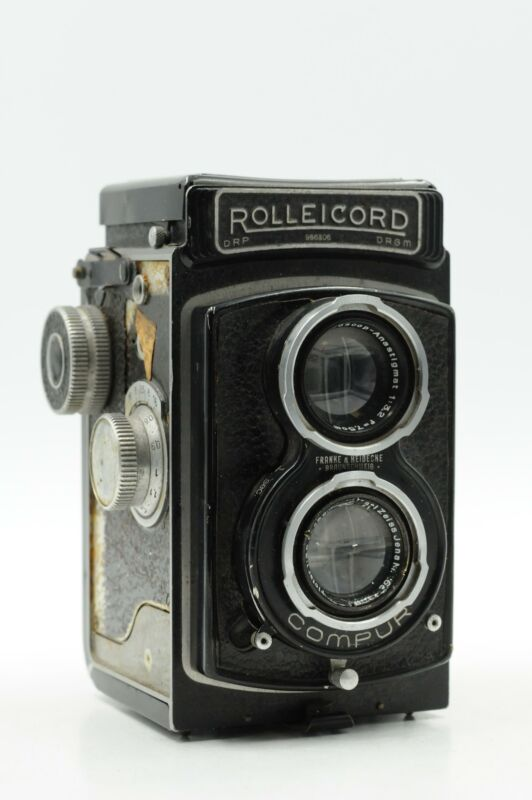 Rolleicord II Model 4 With 75mm f3.5 Carl Zeiss Jena Triotar Lens #306