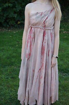 Unique decorated vampire zombie prom bride dress costume halloween size - 10 Unique Halloween Costumes