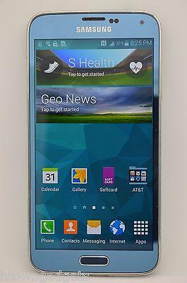 Samsung Galaxy S5 Sm G900a 16Gb Blue Unlocked Gsm Tmobile At T Metro Pcs Cricket