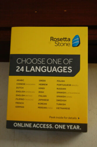 Rosetta Stone TOTALe Online (1-Year Subscription) Mac|Windows 8108944