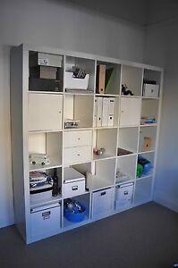 White IKEA Kallax Shelving Unit Cottesloe Cottesloe Area Preview