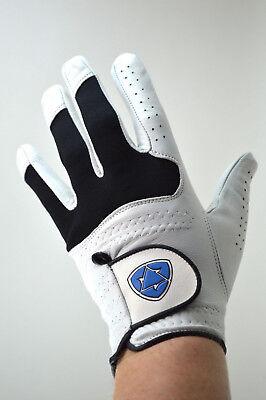 Medium Leather Glove - Golf Glove Men's Medium Large XL Left Hand Right Hand NEW Cabretta Leather Grip
