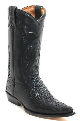 11 Cowboystiefel Westernstiefel Texas Boots Stickerei Catalan Style Krokodil 47 - Krokodil Cowboy Stiefel
