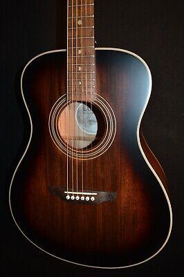 Luna Art Vintage Folk Acoustic Guitar - Free Shipping!
