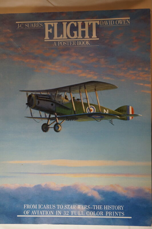 WW1 To Post WW2 US British German Flight A Poster Book Reference Book