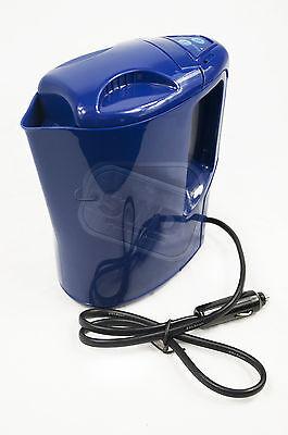 12v car van kettle water travel warmer electric cigarette cig lighter plug 1LTR