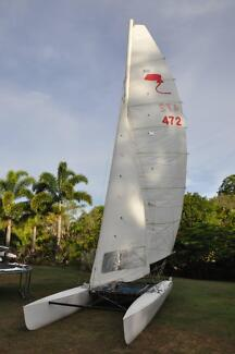 Stringray Mk II 18 foot racing cat (GRP)