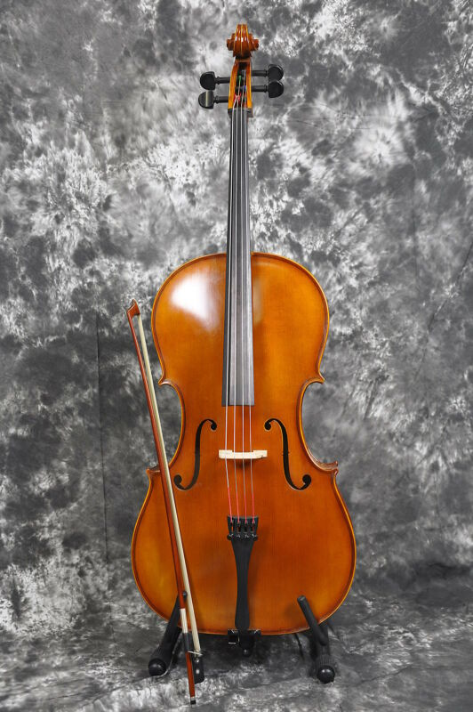 Hofner H4/3 - C3/4  Size 3/4 Cello, Bow and Gig Bag - Made in Germany