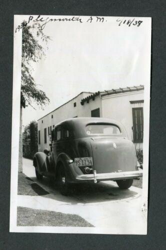 Vintage Photo 1936 Plymouth Car 431200