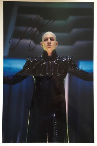 Tom Hardy signed 12x8 Image C Star Trek photo UACC Registered dealer AFTAL