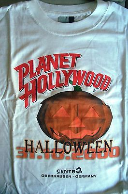 Planet Hollywood Oberhausen Halloween 2000 White Tee Size L XL-Fotos Neu](Planet Hollywood Halloween)