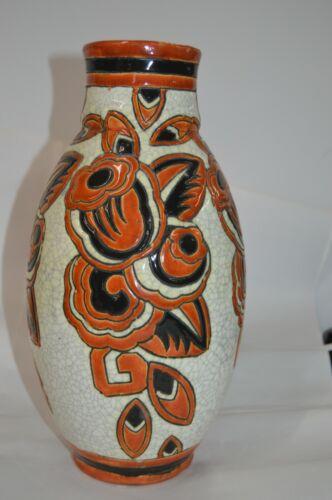 Art Deco Keramis Floral Vase