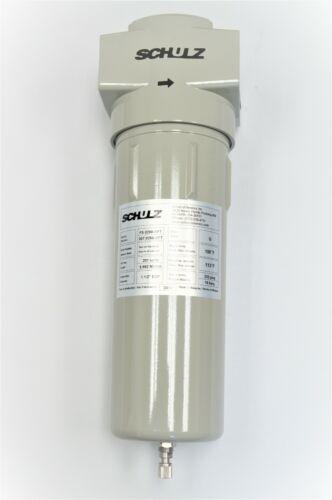 SCHULZ AIR DRYER PRE-FILTER - 1 MICRON   1-1/2 (1.5) INCH - 007.0250-NPT - ADS