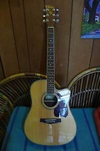 Ibanez Acoustic Electric Guitar Warrimoo Blue Mountains Preview