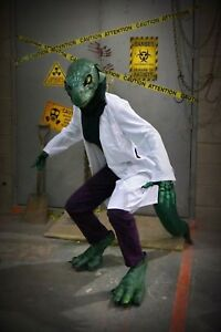 Lizard / Reptile monster Halloween costume (Spider-Man villain)
