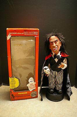 VINTAGE 1990 TELCO 'VAMPIRE' #92182 'MOTION-ETTES OF HALLOWEEN' TESTED AND WORKS - Motion Ettes Of Halloween