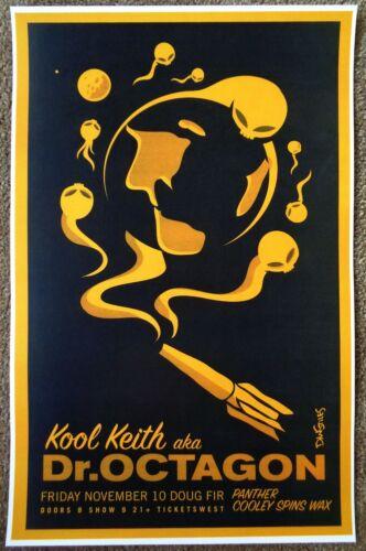 KOOL KEITH 2006 Gig POSTER Portland Oregon Concert