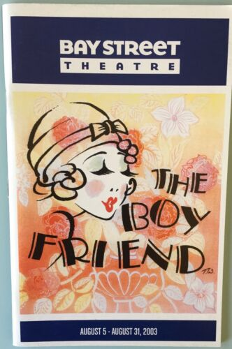Playbill The Boy Friend Julie Andrews Meredith Patterson Tony Roberts Veanne Cox