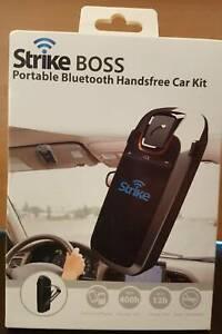 Portable Bluetooth Handsfree Car Kit (Strike Boss) Merrylands Parramatta Area Preview
