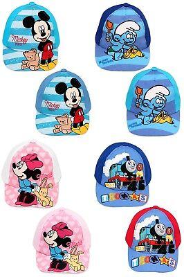 Schlümpfe Thomas Basecap 48 50 Mütze Baby Kleinkinder Cap (Disney ' S Mickey Mouse Kleinkind)