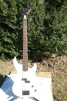 1980's Kramer  Electric Bass Guitar Rare Pointed Headstock