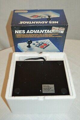 1989 Nintendo NES Advantage Video Games Controller