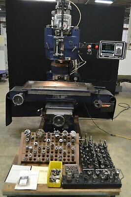 Bridgeport Moog Hydra-point Milling Machine With Prototrak M2 Cnc Control