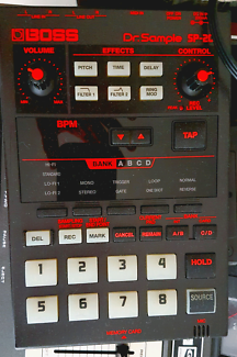 Boss sp 202 sampler