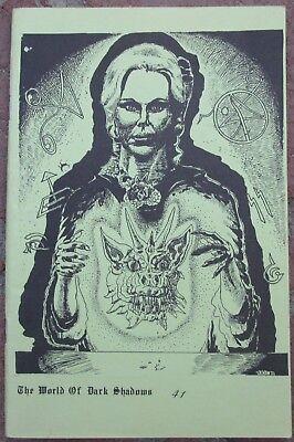 Dark Shadows Fanzine  The World Of Dark Shadows 41  Gen Fanfiction 1985