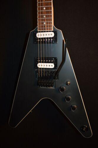 Dean VX Floyd Black Satin V Electric Guitar - Free Shipping!
