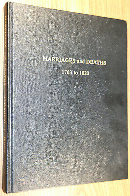 MARRIAGES and DEATHS 1763 to 1820 Georgia Newspapers Mary Bondurant Warren 1968