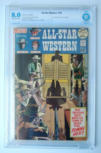 ALL-STAR WESTERN #10 | CBCS 8.0 | 1st App. Jonah Hex