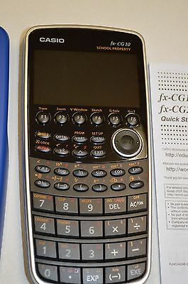 Casio FX-CG10 Color-Display Graphing Calculator. School Property Markings. New.