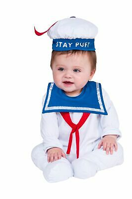 Baby Stay Puft (Rubie's Baby Ghostbusters Classic Stay Puft Costume Romper,6-12)