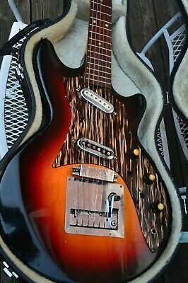 Framus Strato with Case - Vintage guitar Made in Germany