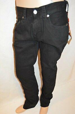 True Religion Herren Skinny Komplett Schwarz Buddha Jeans Größe 34 X 34 (Herren True Religion Skinny Jeans)