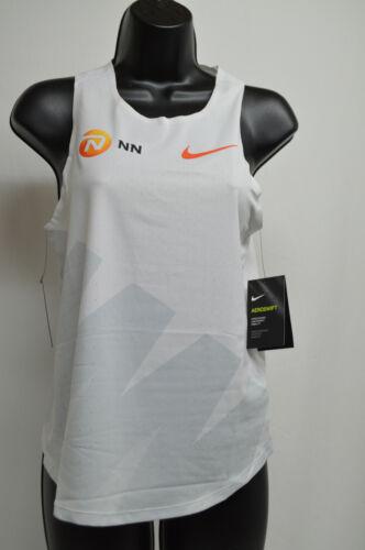 NEW Nike Aeroswift NN Kipchoge Singlet Run Tank White CW1154-100 Women's Small