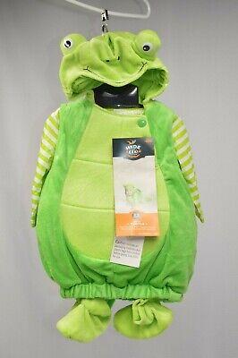 Baby Turtle Halloween Costume (NWT Infant Baby Turtle Plush Halloween Dress Up Costume Size 0-6 Months)