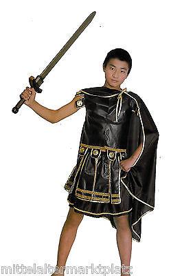 4 tlg Gladiator Kostüm Centurio Legionär Mittelalter Junggesellen Halloween LARP