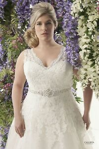 NEW Never Worn Callista Santorini Size 18 Wedding Dress