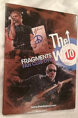 The Who Fragments Fan Club DVD NEW